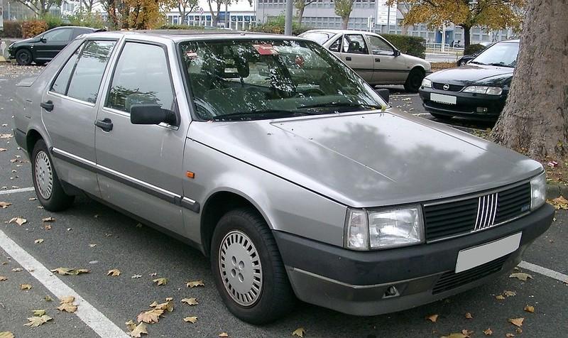 Chromos Fiat Croma 1985 Typ 154
