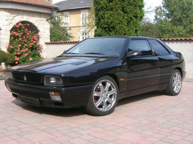 Chromos - Maserati Ghibli 2 - 1992  Tipo AM336